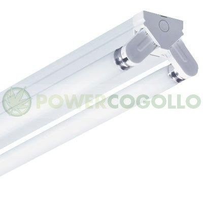 Regleta Industrial Tubos Fluorescentes 2x58w 0