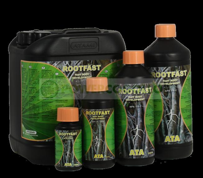 Ata Rootfast es un estimulador de la raiz, 100% vegetal, 0