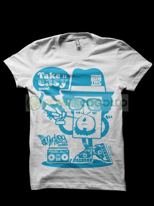 Camiseta Run THC - Smonkey T-Shirt- Cannabis 0