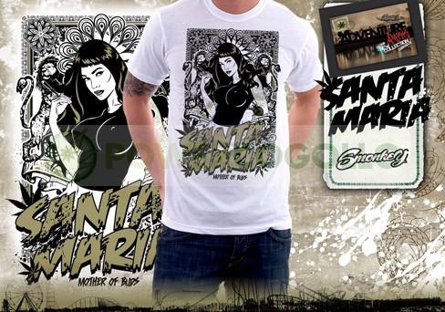 Camiseta Santa Maria 1