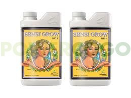 Abono para Crecimiento de Cannabis Sensi Grow A+B (Advanced Nutrients) 0