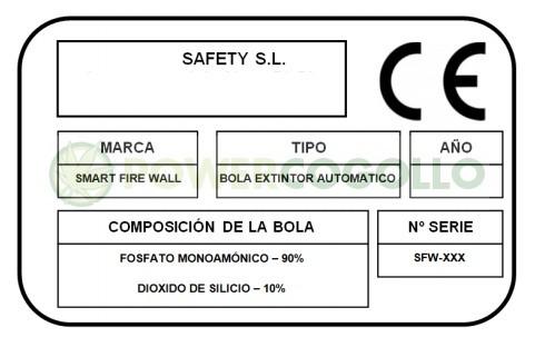 SFW Extintor Bola automático 4