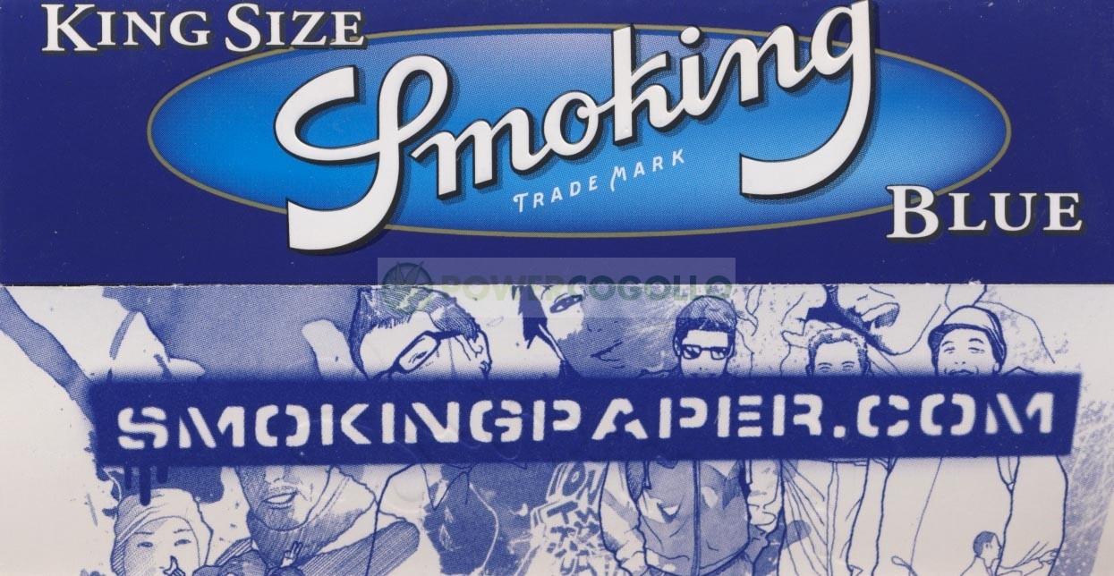 Papel Arroz Smoking Blue KS 0