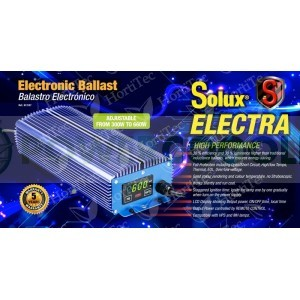 KIT 600 W DIGITAL REGULABLE SOLUX ELECTRA MANDO A DISTANCIA 0