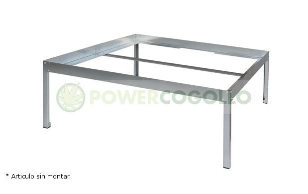Soporte para mesa de cultivo ECO 1x1,10m  0