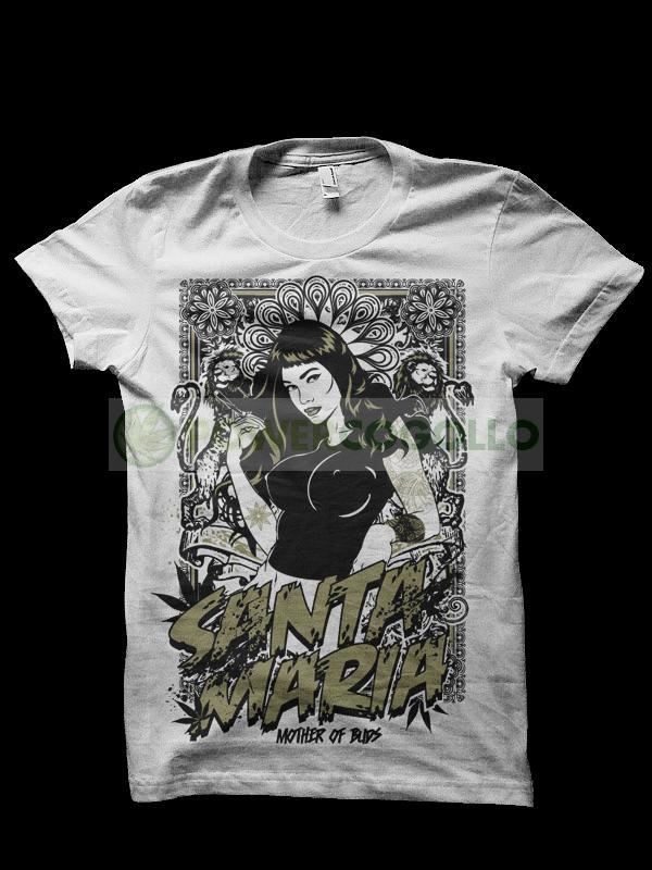 Camiseta Santa Maria 0