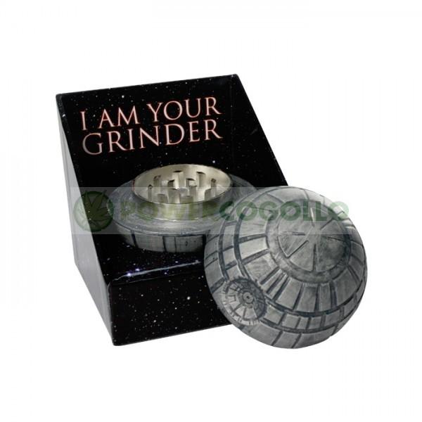 Grinder Star Wars 2 partes Estrella de la Muerte 3