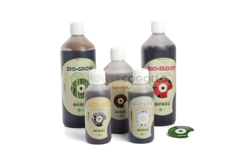 Completo Starter Pack Ecológico BioBizz  Starter Pack Ecológico (BioBizz)  Bio Bizz ¿Tienes creencias ecológicas? ¿Te importa el futuro? ¿Prefieres calidad a cantidad? ¿O simplemente es por el sabor y el color? Si tus respuestas son afirmativas pero no sa 1