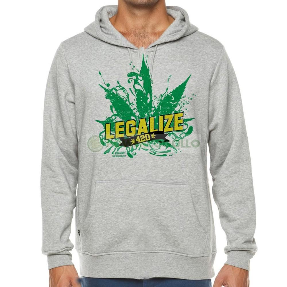 Sudadera Legalize de Smonkey- Marihuana 1