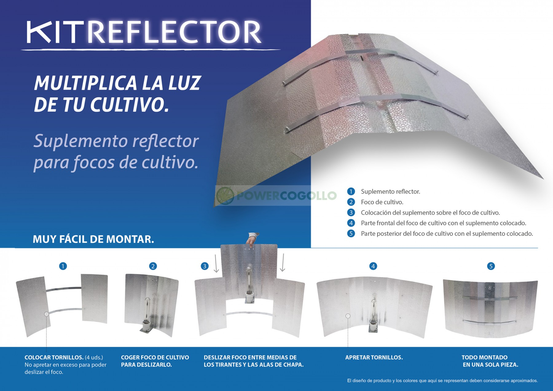 Acople Reflector Super Wings 1