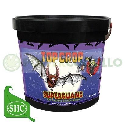 SUPERGUANO (100% GUANO DE MURCIELAGO) TOP CROP-5KG 0