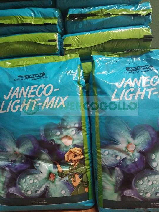 Palet Sustrato Janeco Light Mix 50 Lt (70 sacos)           1