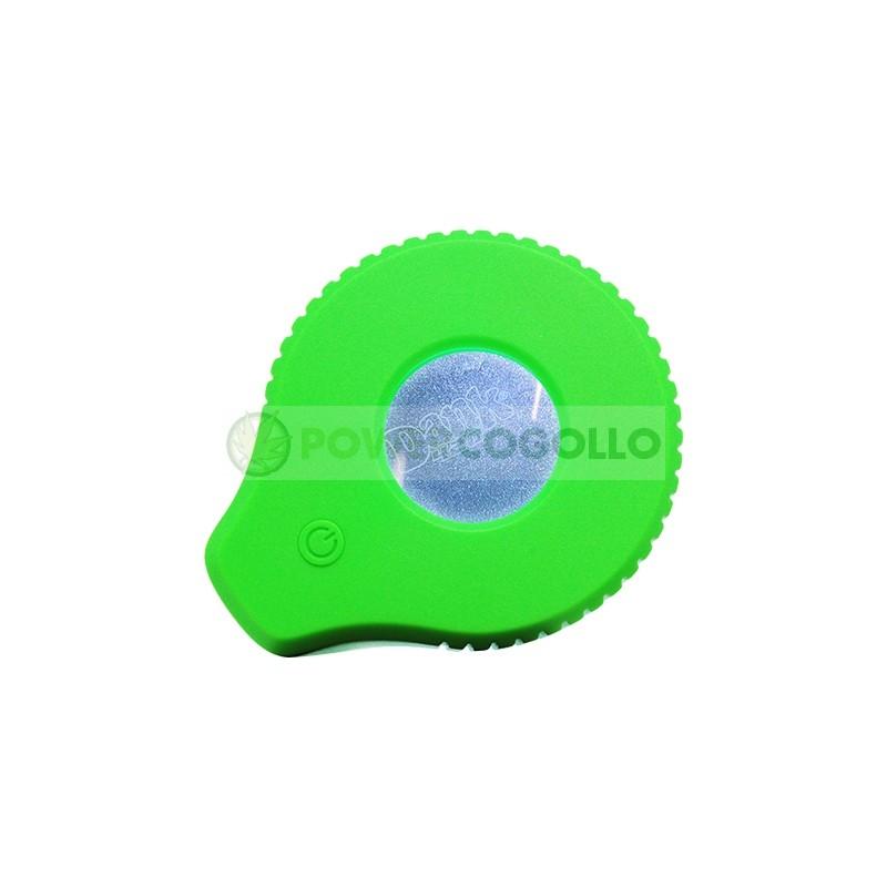 Tarro de Vidrio con Lupa y LED Dank 420-VERDE 3
