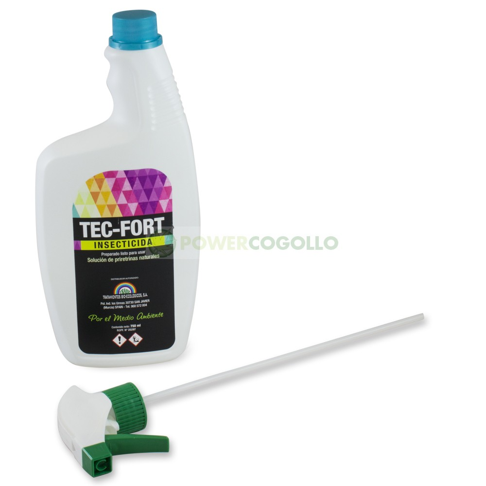 Tec-Fort (Trabe) Spray 750ml Insecticida 100% Natural 0