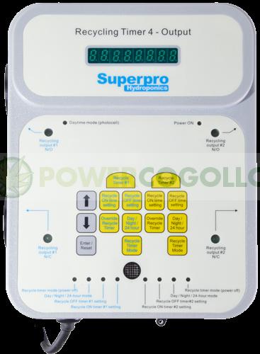 TEMPORIZADOR MULTIFUNCIÓN (SuperPro Hydroponics) 0