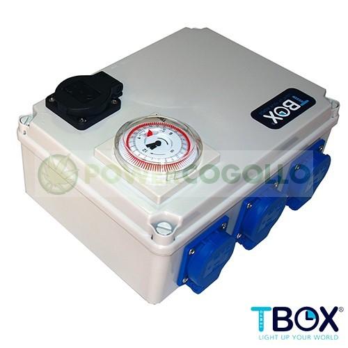 Temporizador 6x600W + Calefacción TEMPO BOX 0