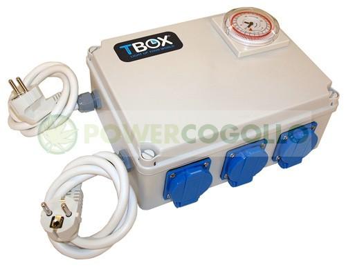 Temporizador de 8x600W TEMPO BOX 0