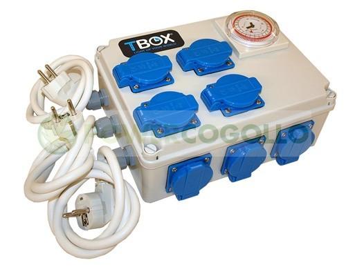Temporizador de 12x600W TEMPO BOX 0