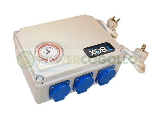 Temporizador de 6x600W TEMPO BOX 1
