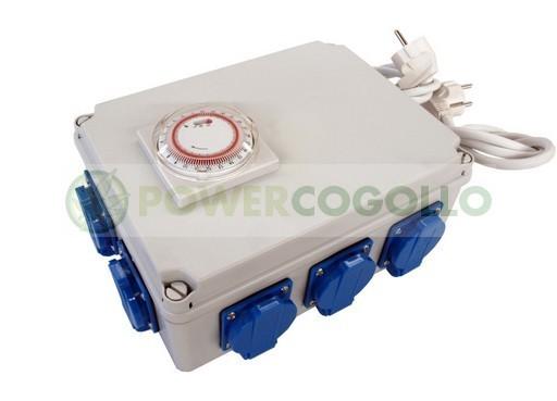 Temporizador de 8x600W TEMPO BOX 1