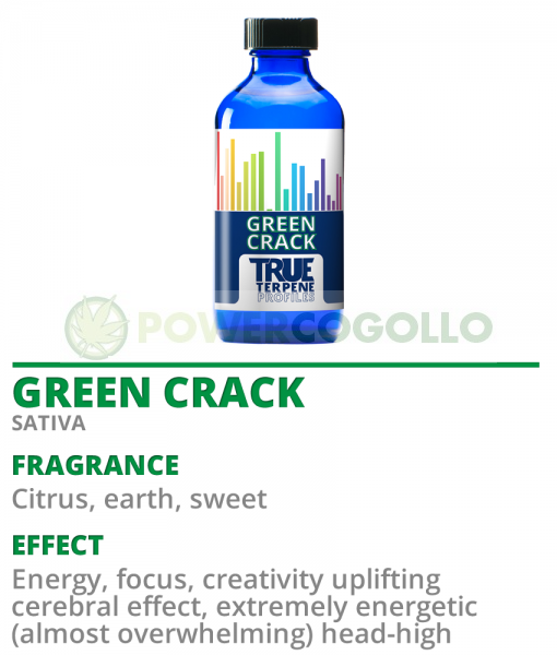 TERPENOS GREEN CRACK (TRUE TERPENE) 2