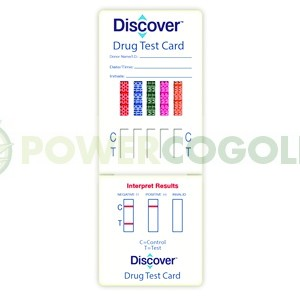 Tarjeta Test de drogas orina (Discover) 2