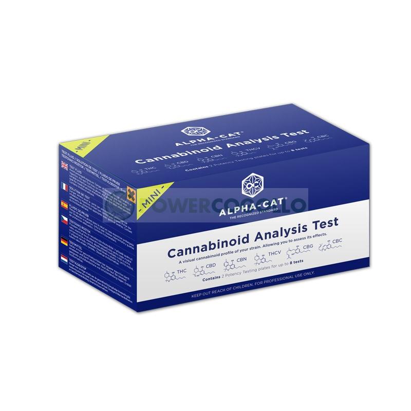 Test Cannabinoides Alpha-Cat Kit Regular de Análisis del Cannabis 0