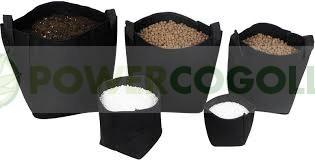 Maceta Tex Pot Negra (Mejor enraizamiento de las plantas) 0