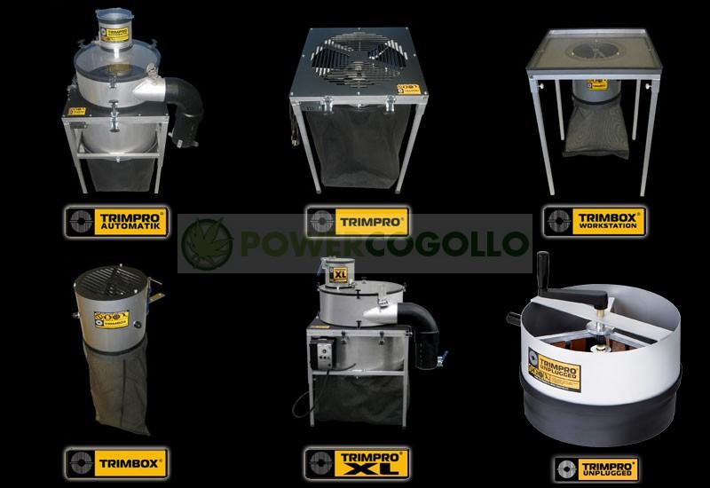 Máquina Peladora Trimpro WorkStation manicurar cogollos 0