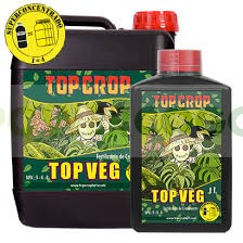 Top Veg 5 Lt de Top Crop Abono para el Crecimieto del Cannabis 100% Natural 2