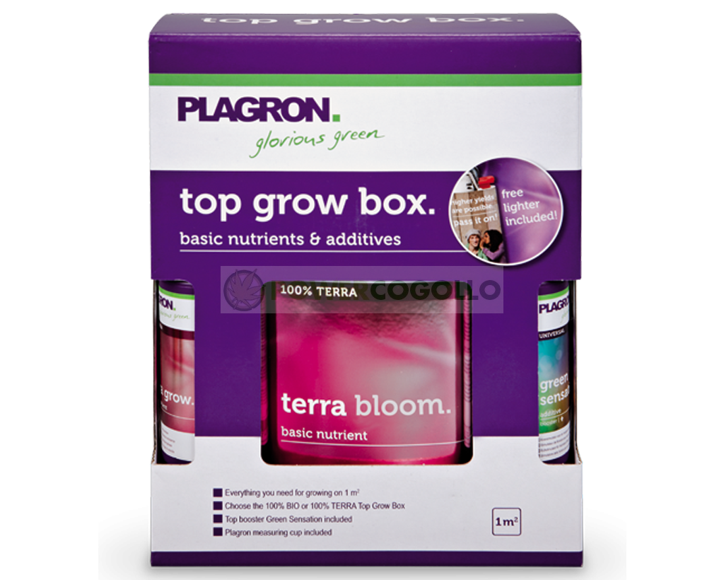 Top Grow Box 100% Terra Plagron 0