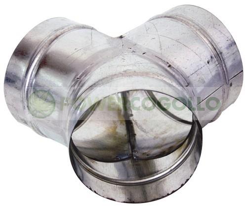 Comprar Unión en Y Metálica para conectar sistema de extracción 0