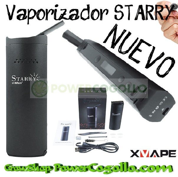 VAPORIZADOR DIGITAL STARRY ( X-VAPE ) 0