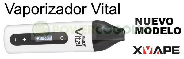 Vaporizador Vital (ºCelsius) Blanco 1