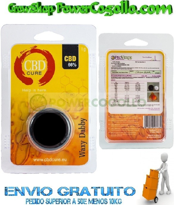 Waxy Dabby Pure CBD 66% (CBD Cure)  0