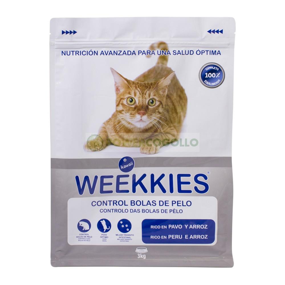 Bolsa Hermética de Ocultación Weekkies 3kg comida de gatos 0