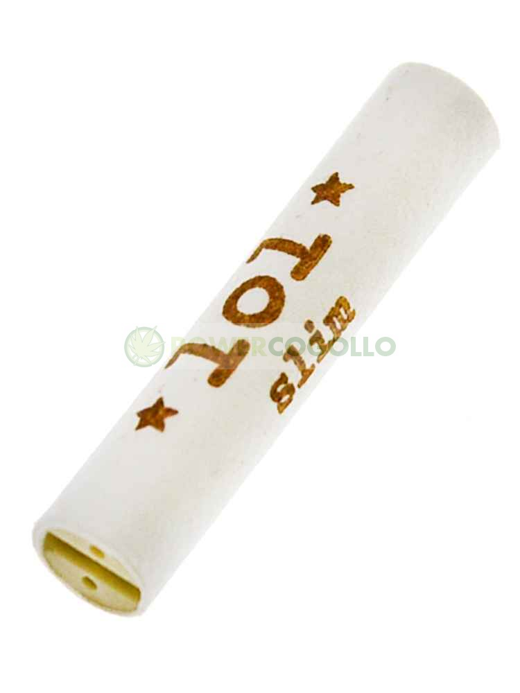 FILTRO LOL TIP TUBE WHITE PEARL SLIM 1