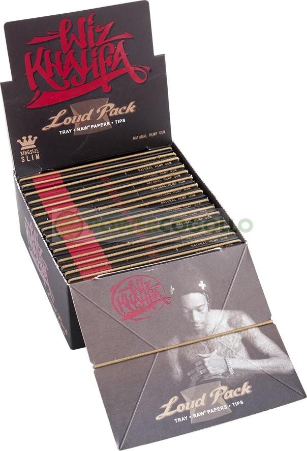 Papel Natural Raw K.S.S. Edición Wiz Khalifa + Bandeja + Boquillas + Prensador  0