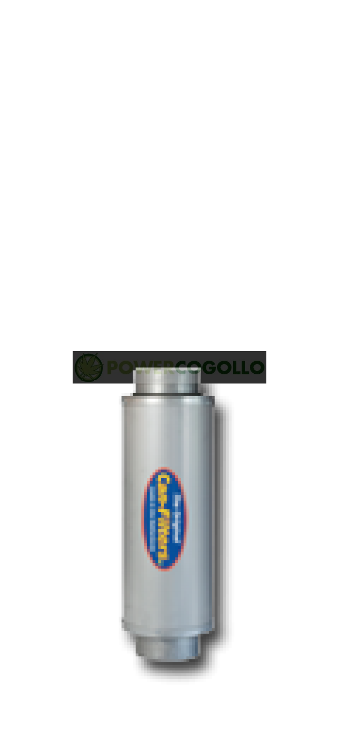 Filtro Antiolor Can In-line 600 m³/h 125mm