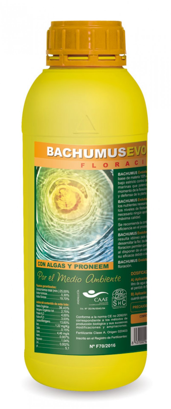 Bachumus Evolution Floración (TRABE)