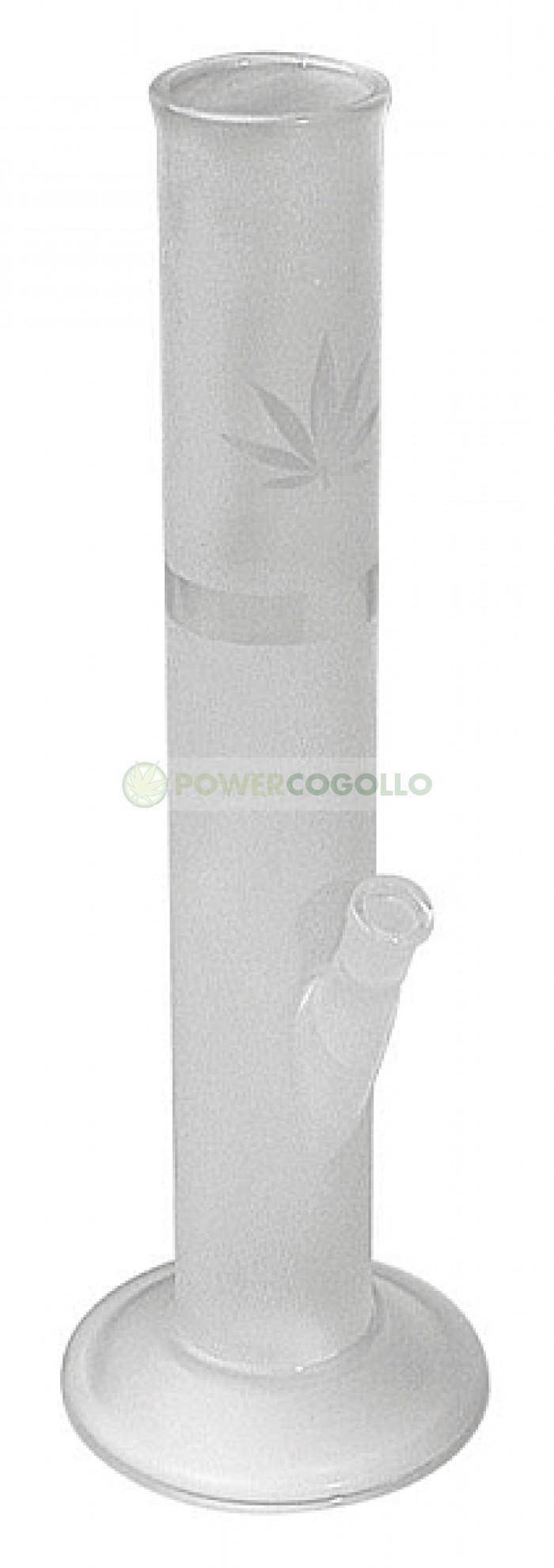 Bong Cristal Mate Tubo 40 cm