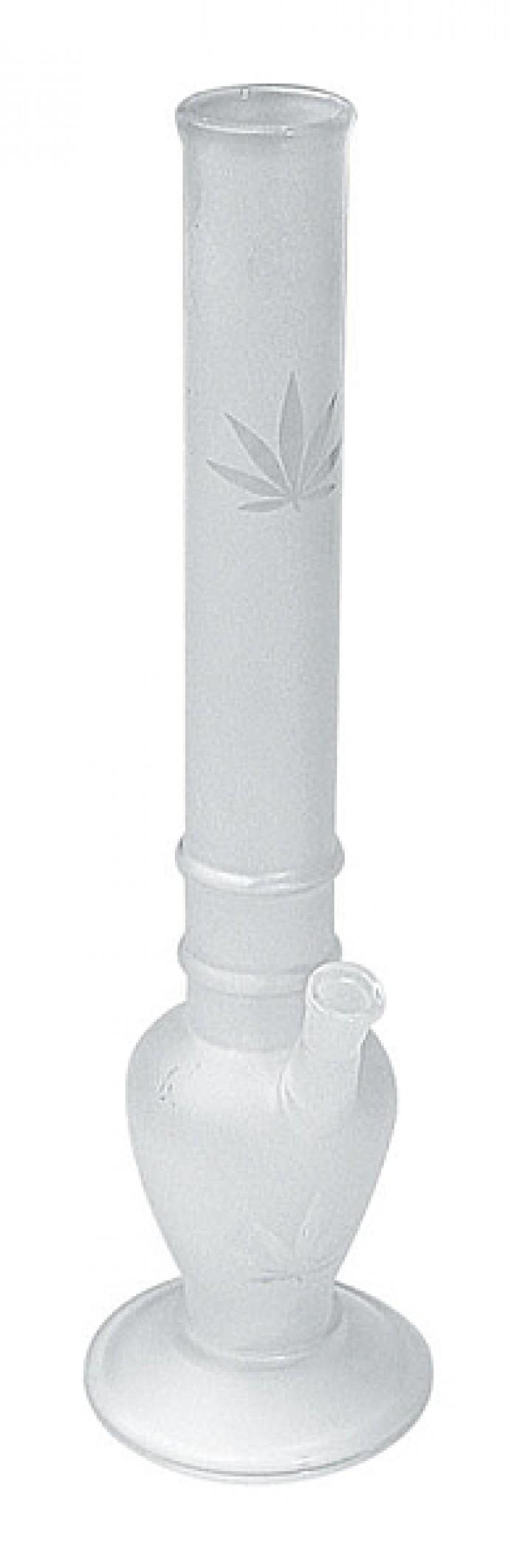 Bong Cristal Mate Hoja Marihuana 37.5cm