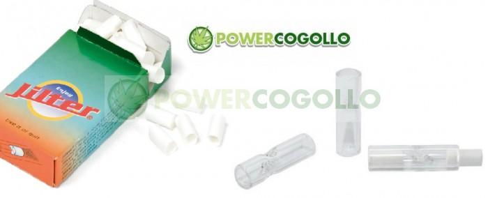 Jilter Filter Boquillas de Cristal XL 3 unidades