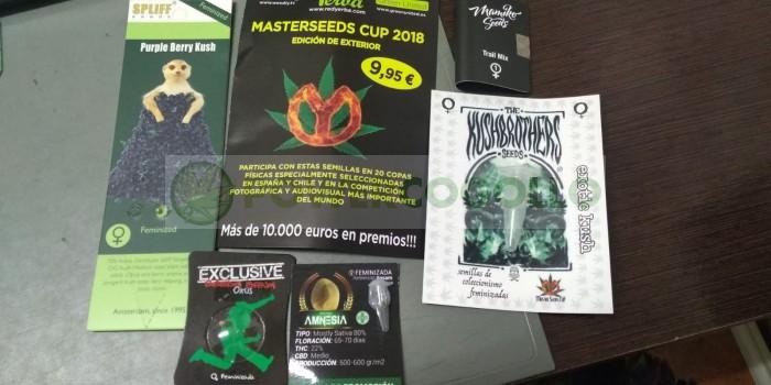 Master Seeds Cup Exterior 2018 (5 Semillas Feminizadas)