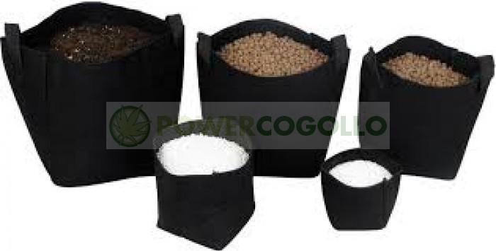 Maceta Tex Pot Negra (Mejor enraizamiento de las plantas)