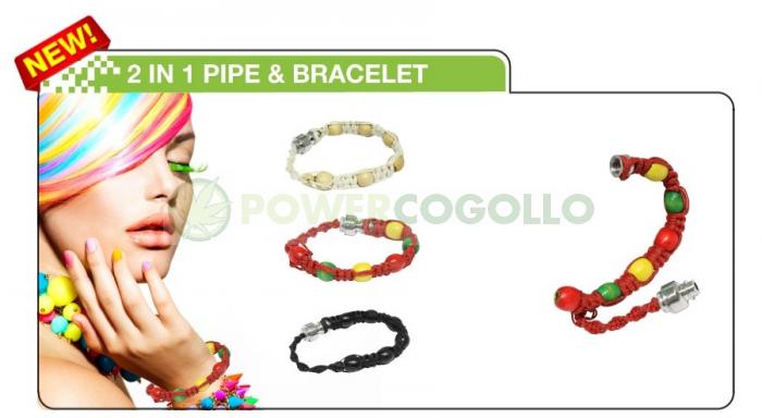 PowerCogollo GrowShop Dr.Cogollo Castellón os trae la mejor colección de pipas  Pipa Brazalete Pulsera  La nueva Pipa Brazalete Pulsera es muy discreta y nunca te la olvidarás en ningún sitio.