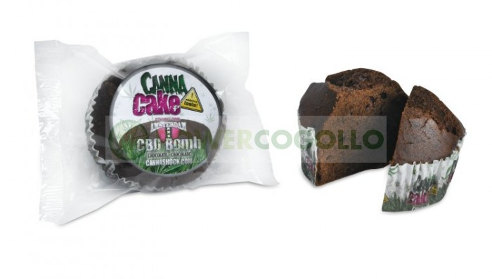 CannaCake Chocolate con Marihuana