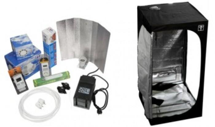 KIT ARMARIO CULTIVO COMPLETO CULTIBOX SG-COMBI S 80X80 Marihuana
