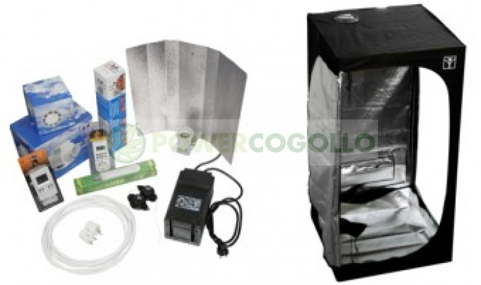 KIT ARMARIO CULTIVO COMPLETO CULTIBOX SG-COMBI S 80X80 Marihuana