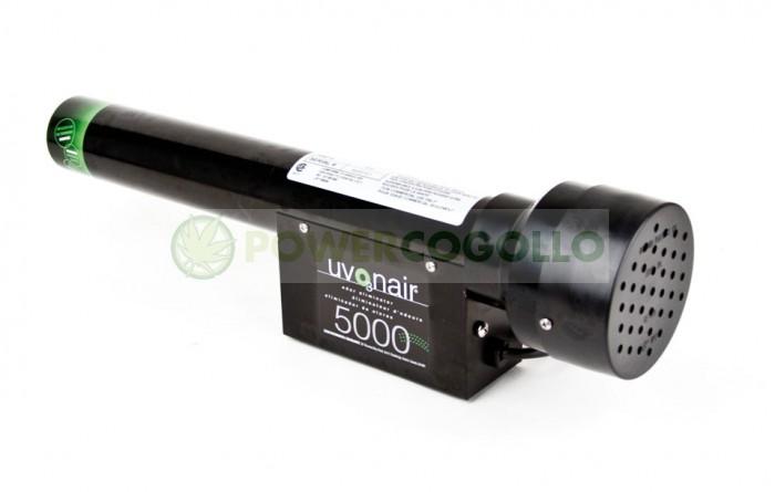 Ozonizador Uvonair 5000 elimina el olor de la habitación de cultivo